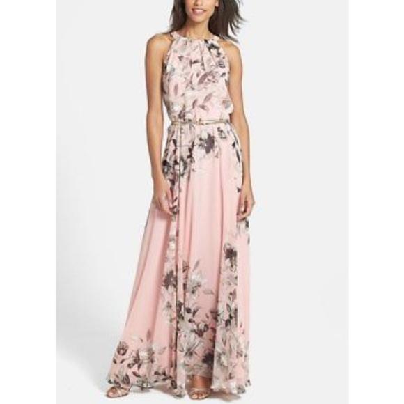2cfc96b2bd2 Eliza J Dresses   Skirts - Floral maxi dress